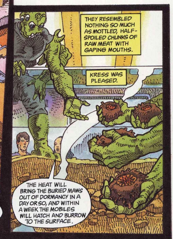 The PorPor Books Blog: SF and Fantasy Books 1968 - 1988: Sandkings graphic  novel