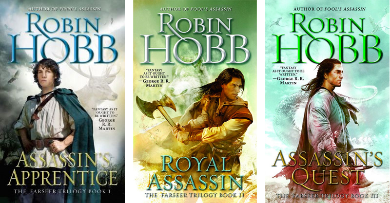 Recent Read - Farseer Trilogy by Robin Hobb — Hannah K Phillips